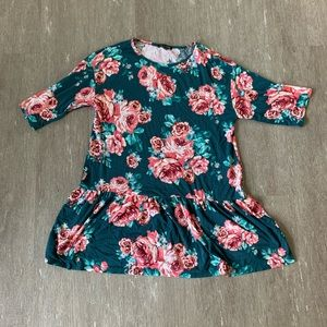 Sweet Claire Floral Boutique Tunic